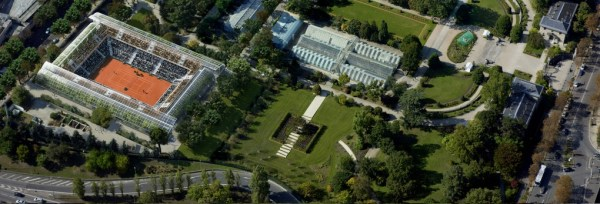 Roland Garros - nouveau Court - Serres