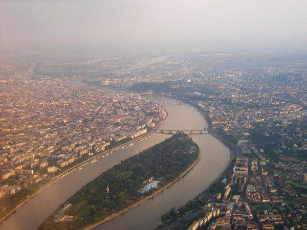 Budapest - vue du ciel