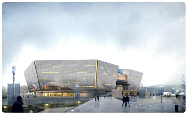 PyeongChang 2018 - patinoire 1 hockey sur glace