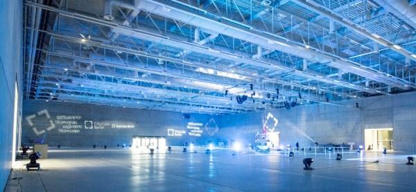 Berlin 2024 - CityCube - vue intérieure