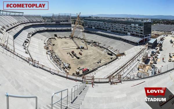 Levi's Stadium - vue du chantier