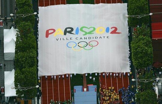 Paris 2012 - drapeau