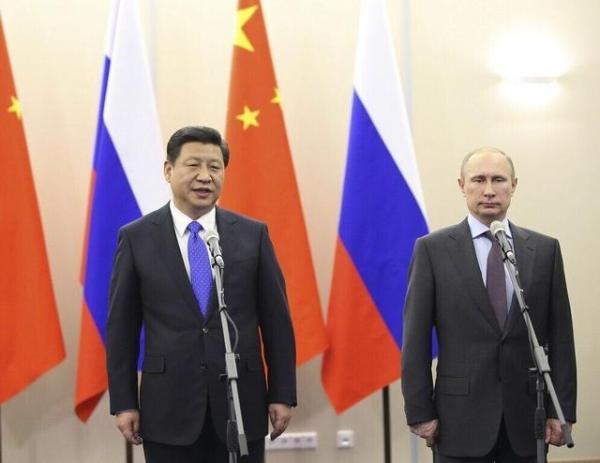 Pékin 2022 - Xi Jinping et Vladimir Poutine