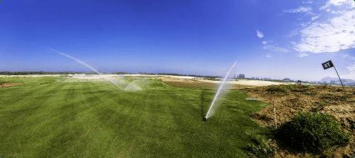 Rio 2016 - chantier du Camp de Golf