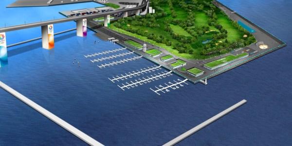 Tokyo 2020 - Marina Olympique de Wakasu