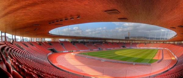 Zurich 2014 - Stadion Letzigrund - vue intérieure