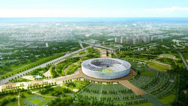 Bakou 2015 - visuel du Stade Olympique