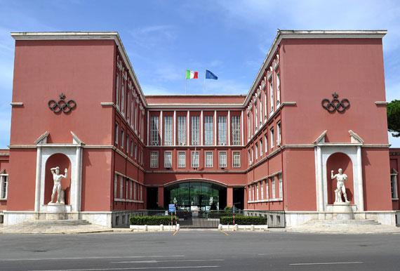 Rome - siège du CONI