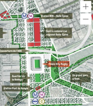 Proposition de Grand Stade - Thiais