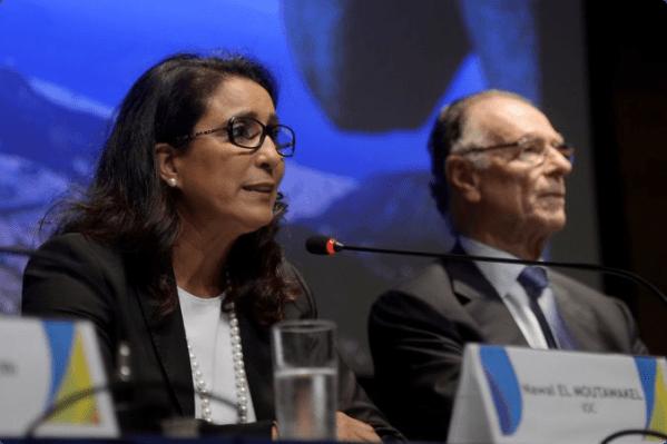 Rio 2016 - Nawal El Moutawakel et Carlos Arthur Nuzman