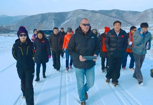 Pékin 2022 - visite IBU 2