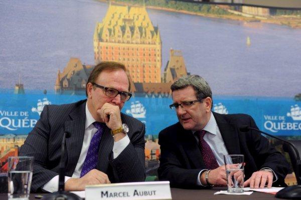 Québec 2026 - Marcel Aubut et Régis Labeaume