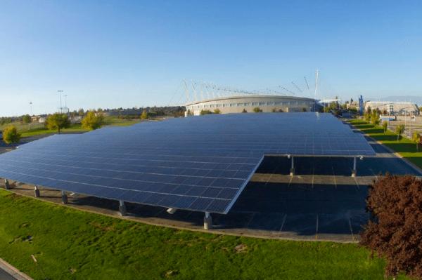 Salt Lake City - panneaux solaires
