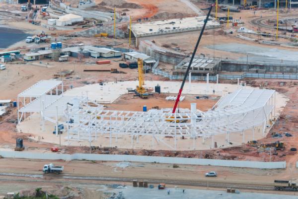 Rio 2016 - Centre aquatique - novembre 2014