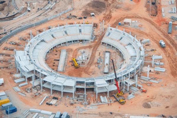 Rio 2016 - Centre de tennis - novembre 2014