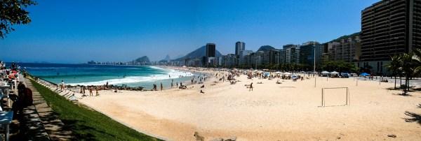 Rio 2016 - la plage de Copacabana