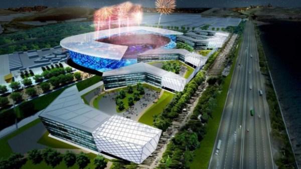 San Francisco 2024 - projet de Stade Olympique