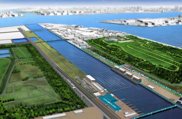 Tokyo 2020 - Canal de la Forêt de la Mer
