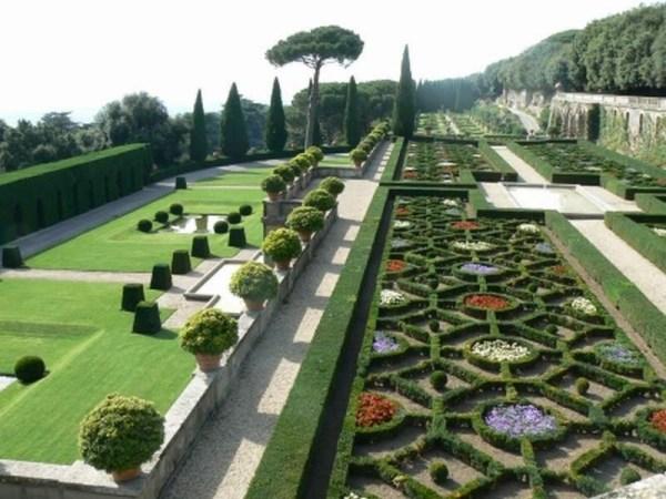 Vatican - jardins de Castel Gandolfo
