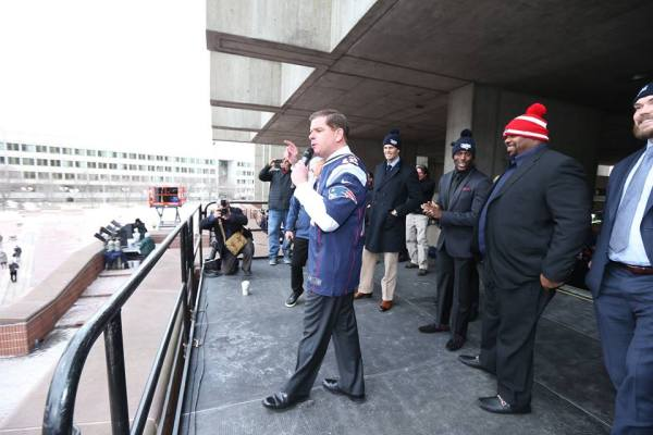 Super Bowl - Maire de Boston
