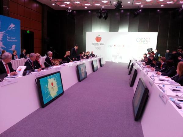 Almaty 2022 - réunion CIO - Comité de Candidature