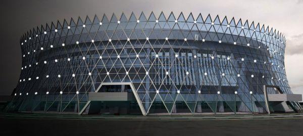 Bakou 2015 - parvis de l'Arena de judo