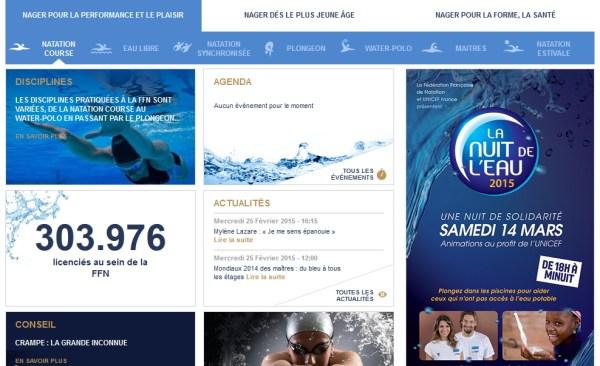 FFN - nouveau site - rubriques