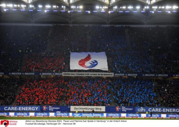 Hambourg 2024 - banderole stade
