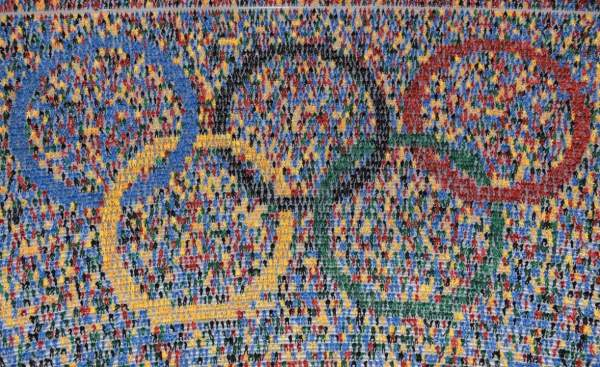 Logo olympique - Hambourg 2024