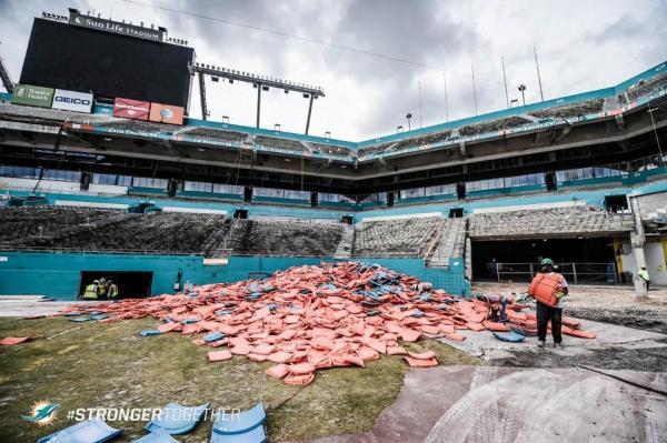 Sun Life Stadium de Miami - rénovation 1
