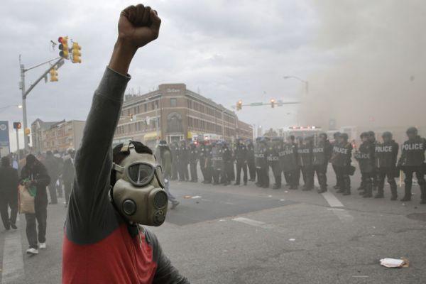 Baltimore - émeutes - forces de l'ordre