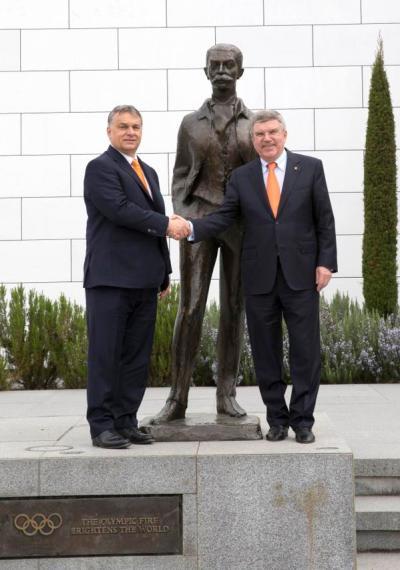 Viktor Orban et Thomas Bach