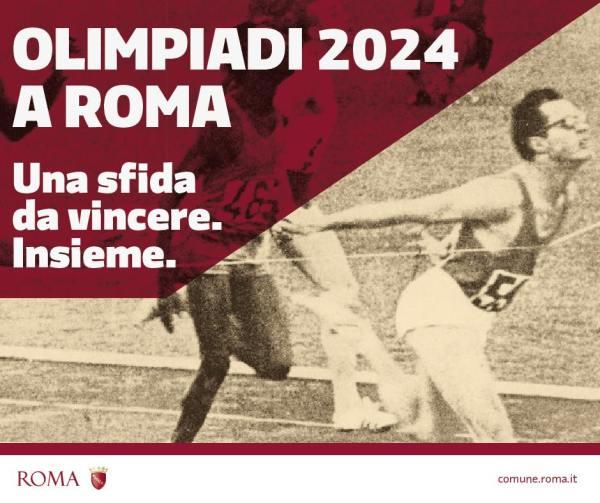 Candidature de Rome 2024 : Un défi à relever, ensemble (Crédits - Ville de Rome)