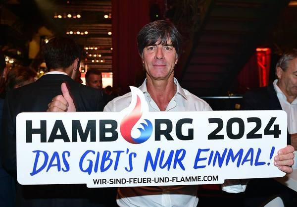 Joachim Löw, entraîneur de l'équipe allemande de football (Crédits - Hambourg 2024)