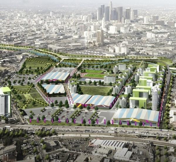 Visuel du Village Olympique (Crédits - Los Angeles 2024)