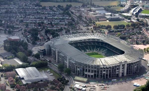 Vue aérienne de Twickenham Stadium (Crédits - L4S / Flickr)