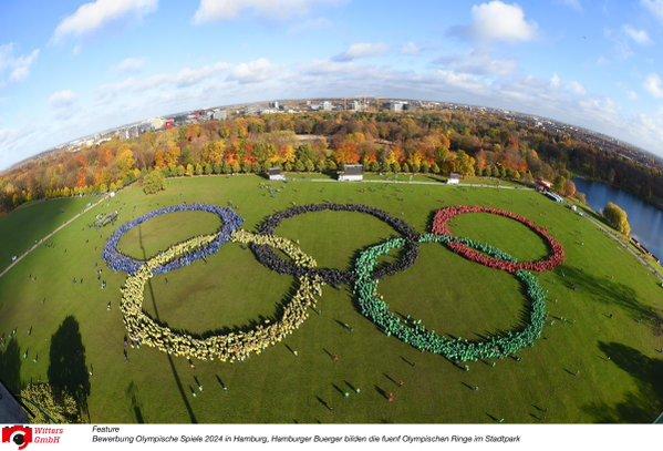 Le site de Stadtpark est proposé par la candidature allemande pour accueillir les épreuves de tir-à-l'arc (Crédits - Hambourg 2024)