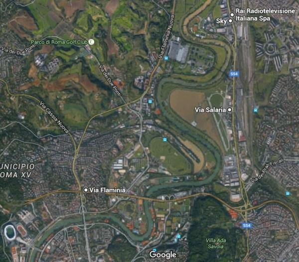 (Crédits - Sport & Société / Google Maps)