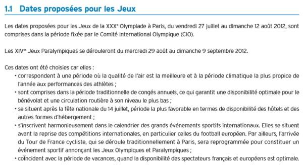 (Crédits - Sport & Société / Paris 2012)