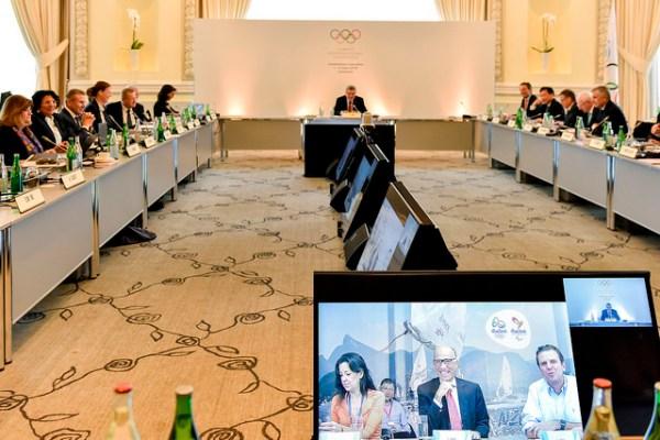 Réunion de la Commission exécutive du CIO, mercredi 02 mars 2016 (Crédits - IOC Flickr / C.Moratal)