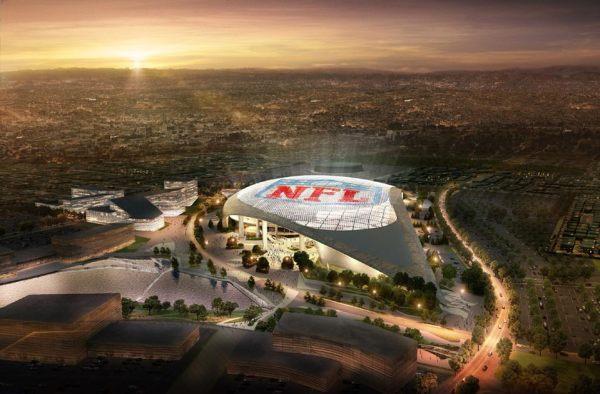 Visuel du futur stade (Crédits - Los Angeles Rams)
