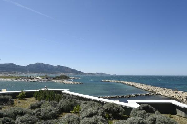 Vue de la Marina de Marseille (Crédits - Paris 2024)