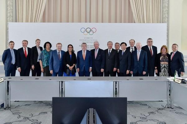 La Commission exécutive du CIO, le 1er juin 2016 (Crédits - IOC / C. Moratal)