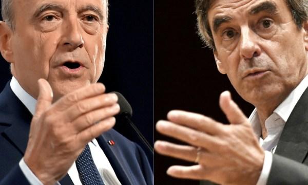 Alain Juppé et François Fillon (Crédits - AFP / BFMTV)