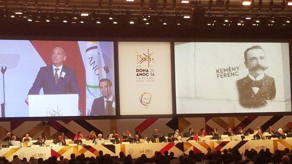 Zsolt Borkai, Président du Comité Olympique de Hongrie (Crédits - Budapest 2024)