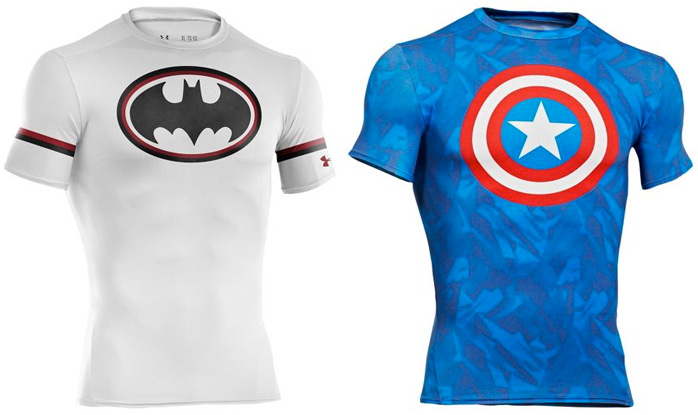Under armour alter ego super hero compression shirts for Beast mode shirt under armour