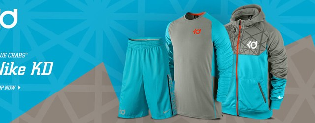 new style dc6a6 31cda Kevin Durant. nike-kd-blue-crab-clothing