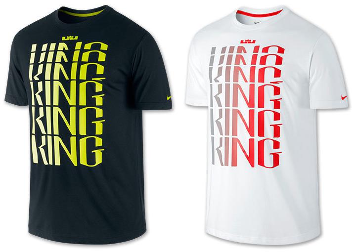 super popular c8122 6ea1c Nike LeBron Ring King T-Shirt