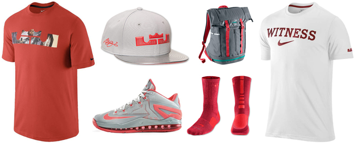 cheap for discount a58d6 12177 nike-lebron-11-low-laser-crimson-clothing