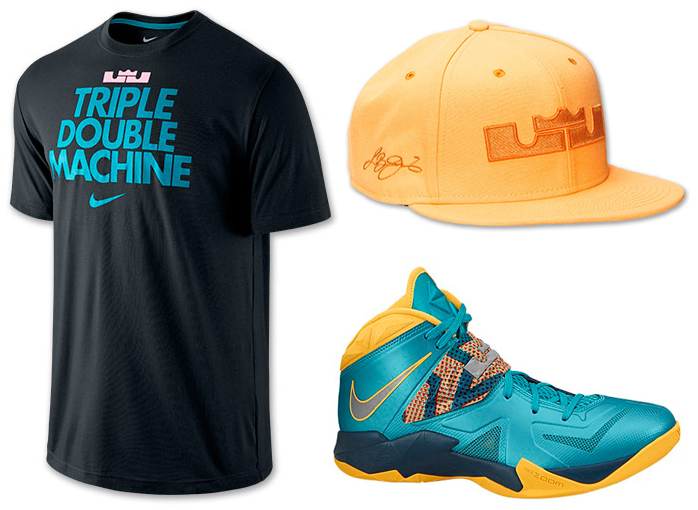 the latest a7dd0 a9147 nike-lebron-zoom-soldier-7-turbo-green-clothing